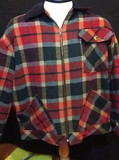 Vintage Ashley Scott Sport Plain Mackinaw Cruiser Hunting Jacket LARGE...
