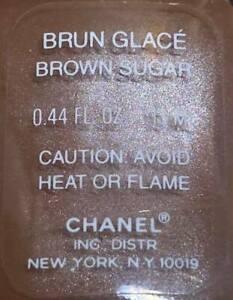 chanel nail polish Brun Glace Brown Sugar rare limited edition VINTAGE
