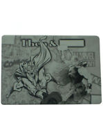 2013 Upper Deck Marvel Then & Now Thor Card Black Printing Plate Metal 1/1