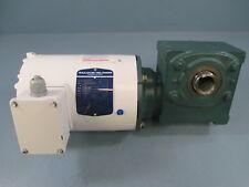 Baldor Vwdm3542/20Q18H56 .75Hp 18:1 Washdown Motor/Gear Reducer - Used
