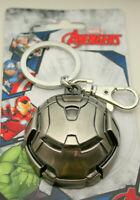 Marvel Comics Iron Man Hulk Buster Helmet Heavy Metal Key Chain New NOS MIP