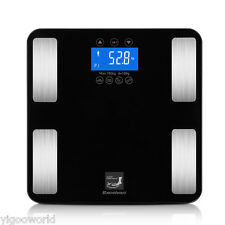 400LB Digital Bathroom Body Fat Weight Scale Calories Muscle BMI Water Bone Mass