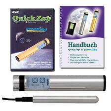 Power Tube QuickZap Silber + DVD und Handbuch