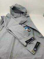 Kuhl Women's Deflektr Hybrid Shell Jacket Size S Ash Hooded Waterproof Zip NWOT