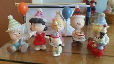 Lenox Peanuts Birthday Party Figurines