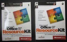 MICROSOFT OFFICE 97 RESOURCE KIT standard professional volume 1-2 no CD-ROM