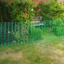 5m x 1 Green Barrier Temporary Fencing Plastic Mesh Safety Netting Event Fence