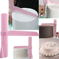 Adjustable Height Cake Smoother Polisher Tools Cutter Fondant Sugarcraft Icing