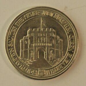 Southampton Queen Elizabeth II Silver Jubilee medal 1952-1977