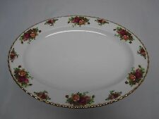 "VINTAGE ROYAL ALBERT OLD COUNTRY ROSES 16 1/4"" x 12 1/4"" PLATTER EXCELLENT COND!"