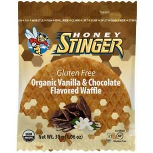 Honey Stinger Organic Gluten Free Energy Waffles 30G Box Of 16 Cinnamon Bike