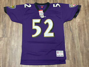 Men's Mitchell & Ness Ray Lewis 2000 Throwback Jersey Size M Stitched