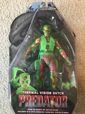 "NECA PREDATOR Series 11 THERMAL VISION DUTCH 25th Anniversary 7"" action figure"