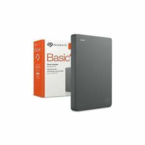 """Seagate Basic memory case 2.5"""" USB 3.0, 1TB disco rigido Hard Disk esterno Nuovo"""