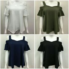 Unbranded Women's Stretch Strappy, Spaghetti Strap Hip Length Tops & Shirts
