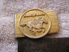 Vintage Money Clip Santa Anita