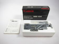 New Canon MM-100 Mixing Microphone
