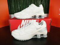 Nike Shox Enigma Silver White Womens Running Shoes BQ9001 003 Size 6-10