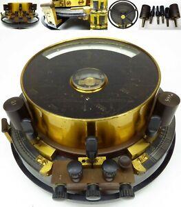 Siemens Halske Universal Galvanometer Telegraph Telefon um 1910 Wheatstone