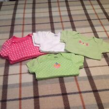 Baby girl mix lot of 8 onesies one-piece suits new Gerber 6-9 months