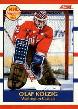 1990-91 Score Canadian #392 Olaf Kolzig RC   Washington Capitals