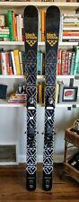 Black Crows Daemon Skis 188 Cm w/ Salomon STH2 WTR 13 Ski Binding - Excellent!
