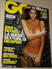 BAR REFAELI COVER MAGAZINE GQ 2006=TOM FORD=COSTA SMERALDA BY MARCO GLAVIANO=