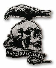 "THE EXPENDABLES ""EXPENDABLE"" Tattoo Logo Embroidered Team Crew Patch - Iron-On"