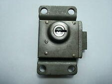 Western Electric 3 slot payphone lock  #14 vault door w/ key Original