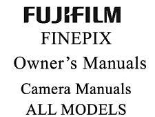 Fuji FujiFilm FinePix User Operator Manual Guide (S HS)