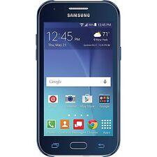 New Samsung Galaxy J1 SM-J100 8GB (Verizon Prepaid) 4G LTE 5MP Blue Smartphone