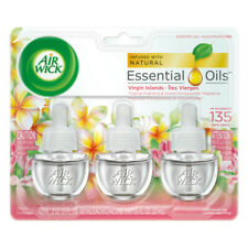 Air Wick Scented Oil Air Freshener,Virgin Islands, Triple Refills, 0.67 oz