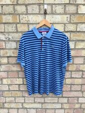 Lacoste Striped Polo Size 6 - Large