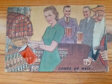 More details for pre war william youngers beer mat 1939.