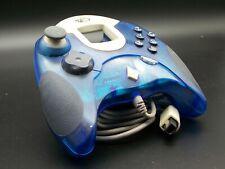 Controlador | Dream pad | Sega Dreamcast | madcatz | transparente azul | Top