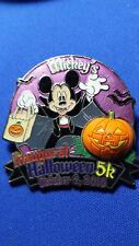 VAMPIRE MICKEY Free-D INAUGURAL 5K RUN HALLOWEEN 2010 Disney LE 1200 PIN