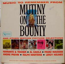 Music To Remember - Mutiny On The Bounty LP VG+ UAL 2349 1st Vinyl 1961 Record