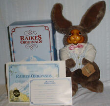 Vintage Robert Raikes Andrew Bear Numbered Y 1745 of 5000 With Coa