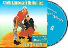 CHARLY & MENTAL THEO - Just can't get enough CDS 2TR Happy Hardcore PROMO 1997