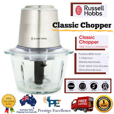 Russell Hobbs Electric Food Processor Vegetable and Fruit Slicer Dicer Chopper