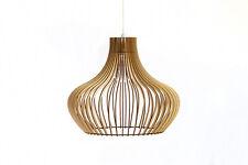 Wood Lamp / Wooden Lamp Shade / Hanging Lamp / Pendant Light / Ceiling Lamp