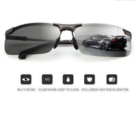 Photochromic Sunglasses with Polarized Lens - Perfect for Fisherman Fish Finder