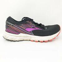 Brooks Womens Adrenaline GTS 19 1202841B080 Purple Black Running Shoes Size 8 B