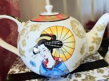 ASHDENE - Ayako Oriental Teapot - Collectable Fine Bone China - Perfect Gift !