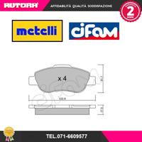 8226380 Kit pastiglie freno a disco ant Fiat Panda (169) (MARCA CIFAM,METELLI)