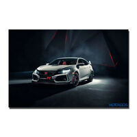 2017 HONDA CIVIC TYPE R Silk Wall Poster Picture Print 13x20 inch