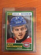 2013/14 Score #7 Alex Galchenyuk Canadiens Rookie RC SP SSP Only 1 on EBAY