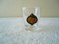 "Vintage Kansas Themed Shot Glass "" Beautiful Collectible Rare Item """