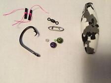 "3x Fishing drifting float bait rig kit channel blue catfish circle hook 3"" float"