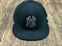 New York Yankees Men's Black MLB Baseball Hat - 7 ⅜ - New Era